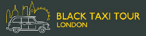Black taxi tour logo