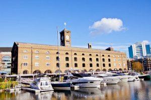 boats-moored-at-St-Katherines-Docks
