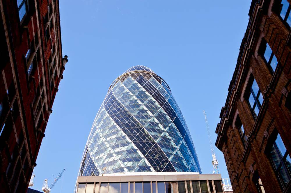 external-view-of-the-Gherkin-london