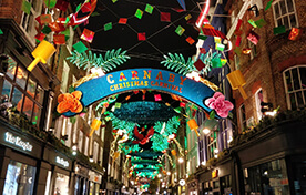 Christmas Lights Tour Carnaby